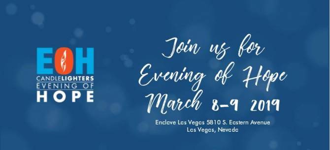 Blue Apple Electric is pairing with Candlelighters Childhood Cancer Foundation of Nevada in an Evening of Hope